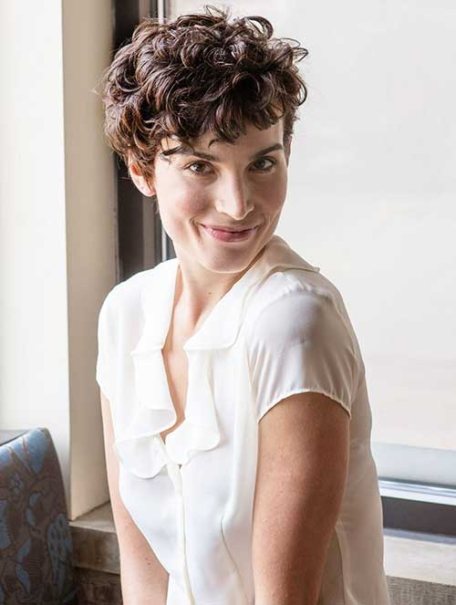 Very Short Curly Pixie Haircuts