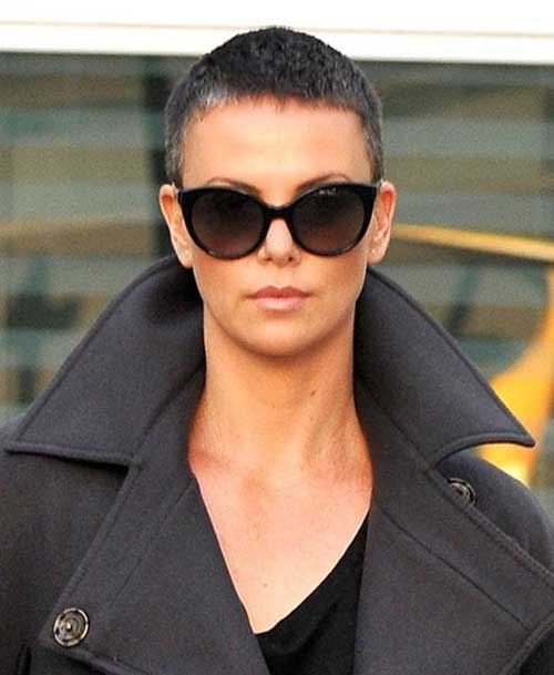 Very Short Hair Cuts Shaved Pixie