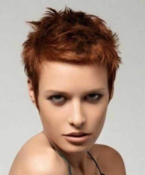 Very Short Pixie Hair Women