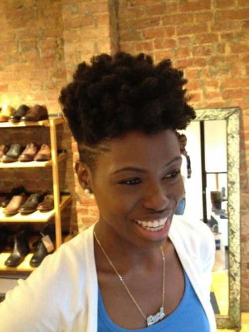Natural Hairstyles for Short Hair-10