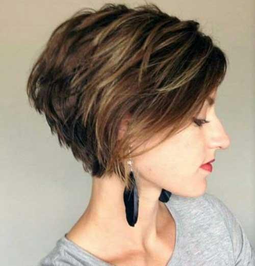 Short Layered Haircuts-10