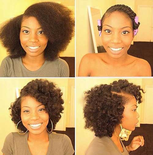 Natural Hairstyles for Short Hair-14