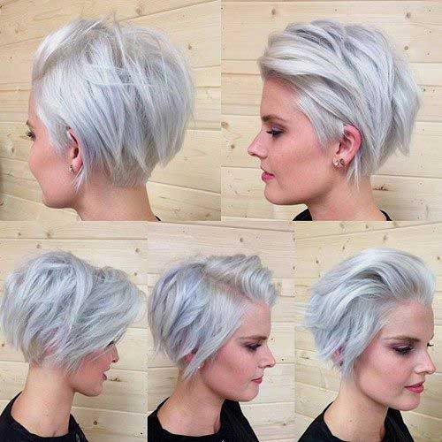 Short Layered Haircuts-16