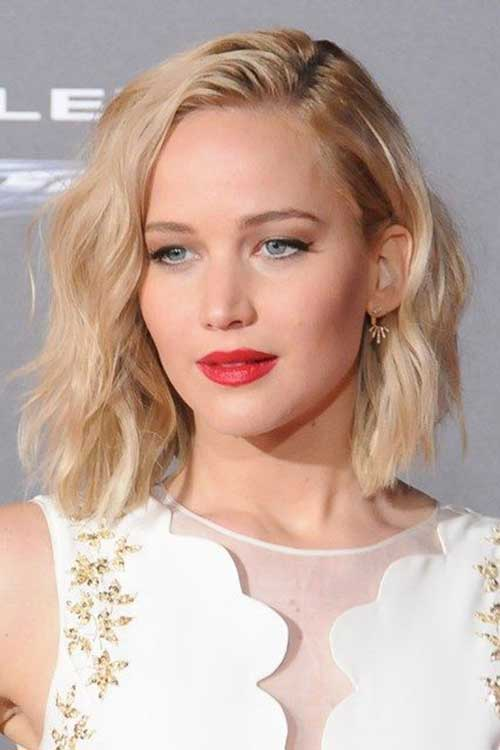 Short Hairstyles for Wavy Hair-16