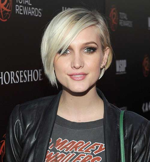 Short Blonde Hair-17