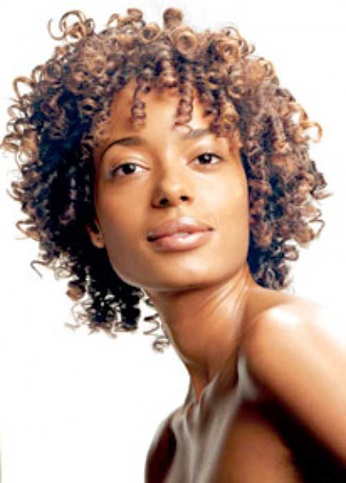 Curly 2014 Bob Hairstyles for Black Women
