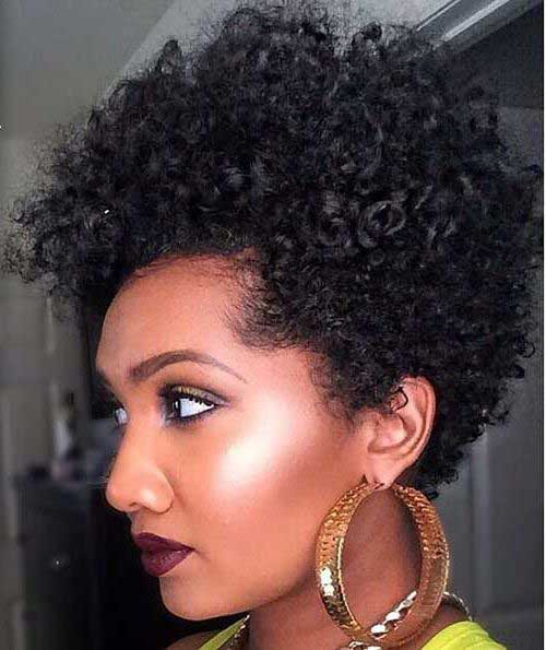 Short Curly Hairstyles-21