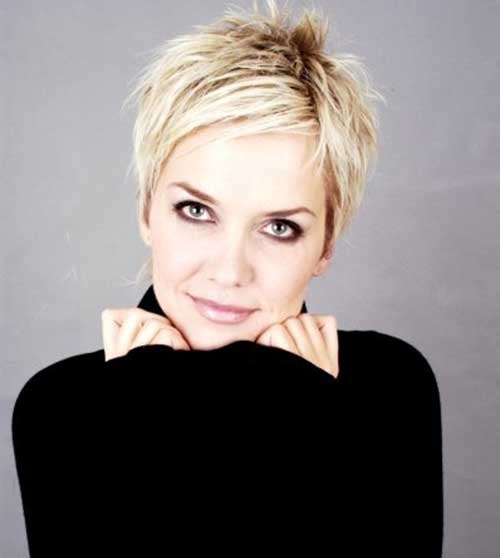 Short Blonde Hair-21