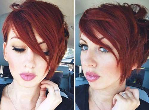 Short Layered Haircuts-24