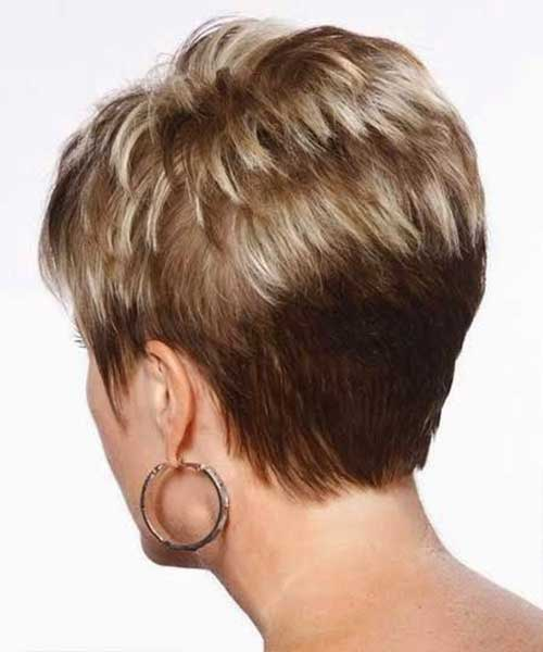 Short Haircuts for Women Over 50-27