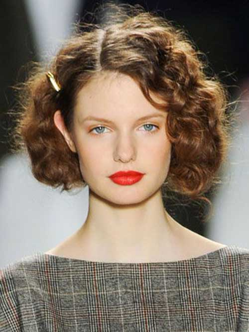Short Curly Hairstyles-28