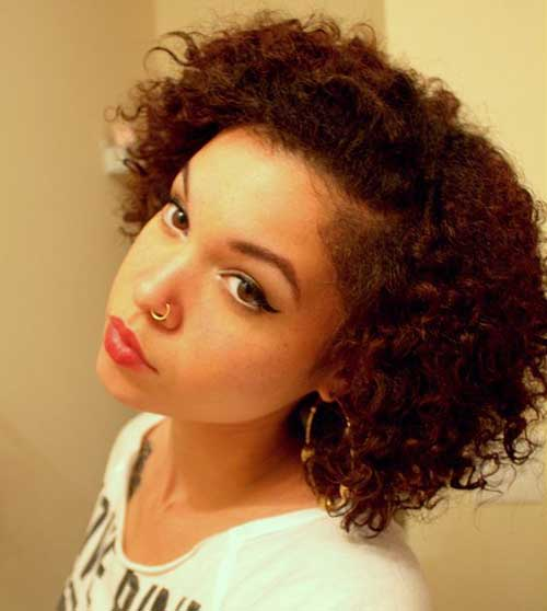 Short Curly Hairstyles-29