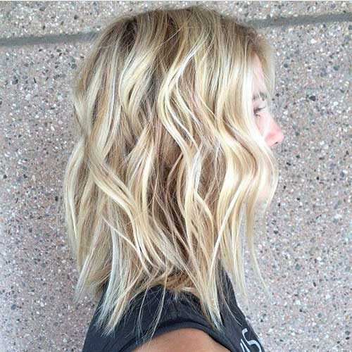 Short Hairstyles for Wavy Hair-6