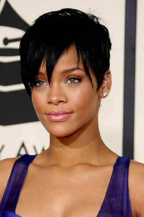 15 Rihanna Pixie Hairstyles Crazyforus