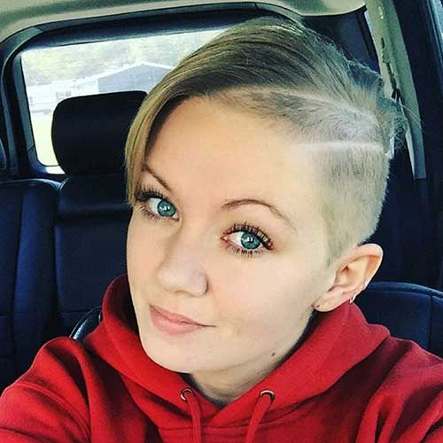 Pixie Cuts for Round Faces-9