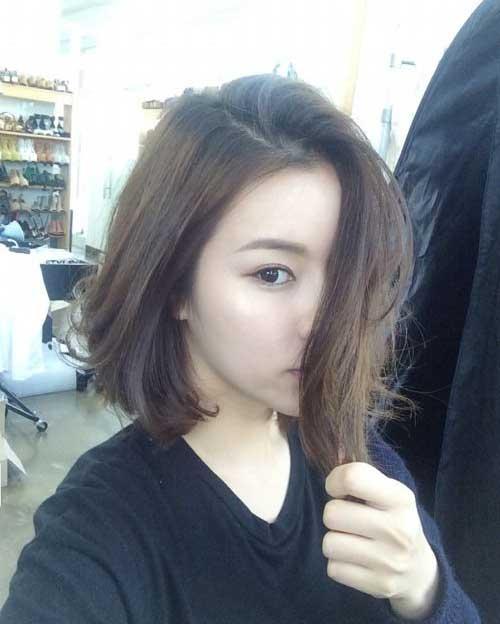 Asian Inverted Long Bob Haircuts