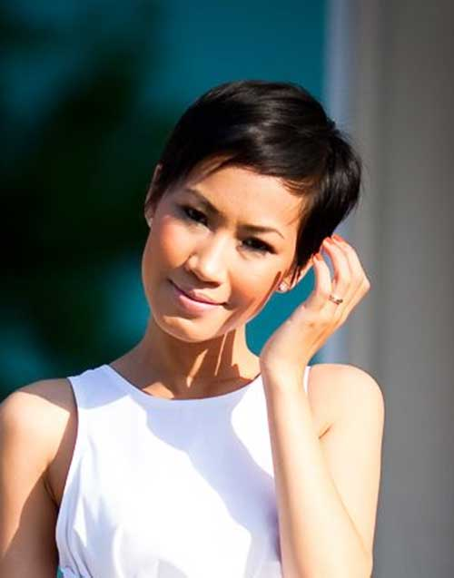 Asian Short Haircuts Idea for Girls