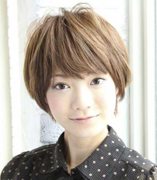 Asian Short Straight Pixie Haircuts