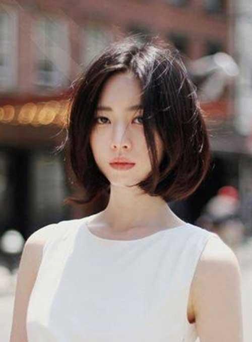 Asian Straight Fine Bob Haircuts