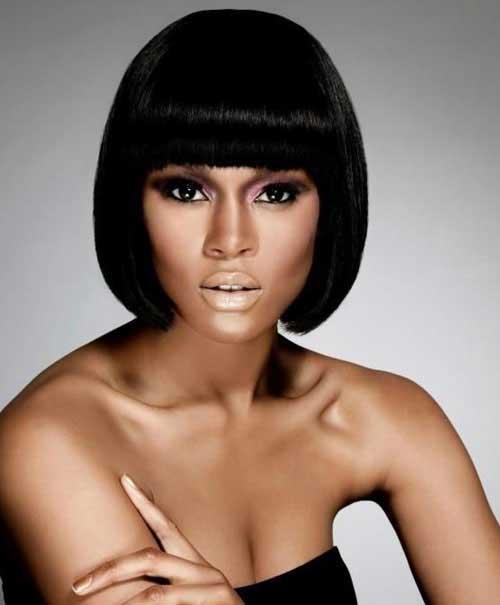 Blunt Bob Hairstyles for Black Women 2014