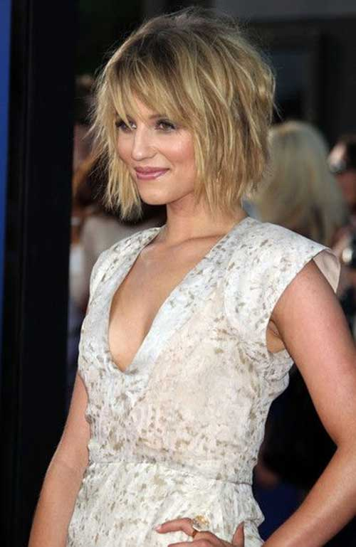 Cute Short Layered Choppy Bob Hairstyles