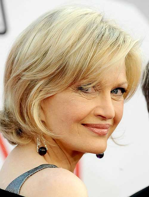 Hairstyles For Short Layered Hair Over 50
