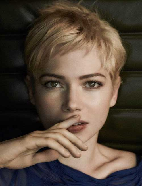 Cute Layered Short Pixie Cuts for Girls