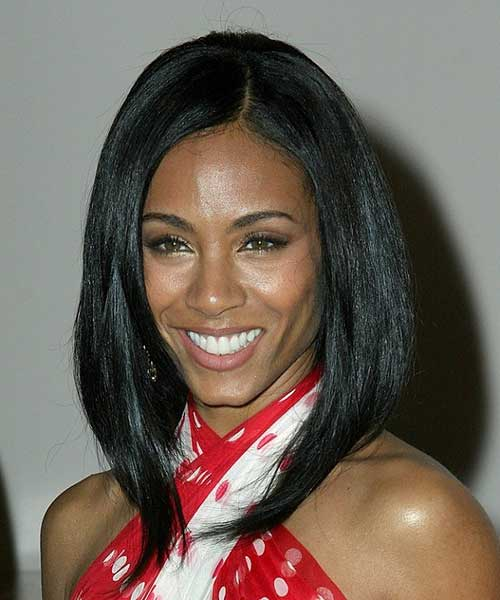 Long Bob Hair Cut for Black Women