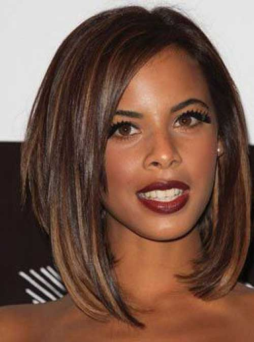 Mid Length Bob Hairstyles for Black Women 2014