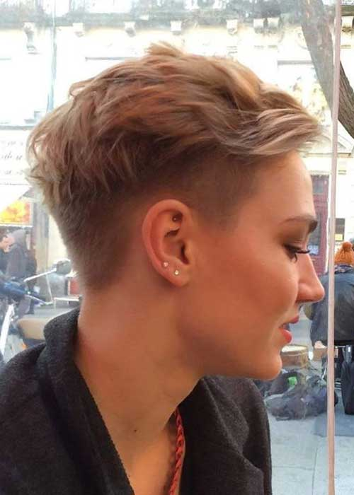 Blonde Pixie Cuts for Girls