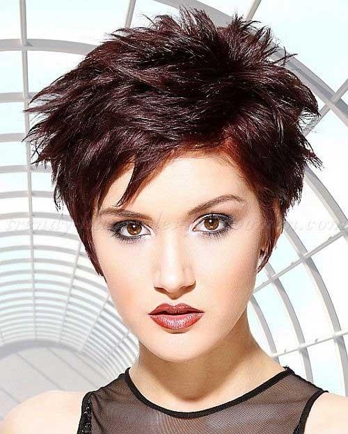 Punk Short Spiky Hair Cuts