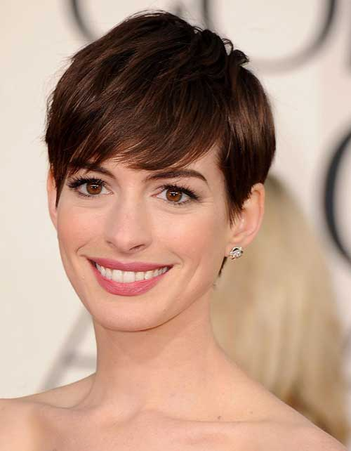 Short Fine Pixie Hair Styles for Woman