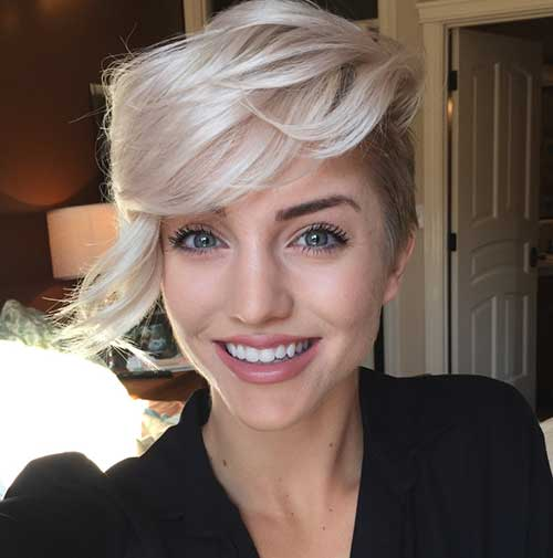 2016 Woman Short Hair Trends