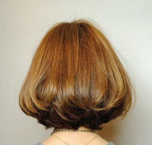 Short Hairstyles for Asian Hair Back View