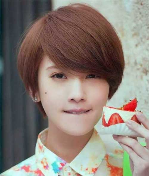 Short Hairstyles for Asian Long Pixie Hair