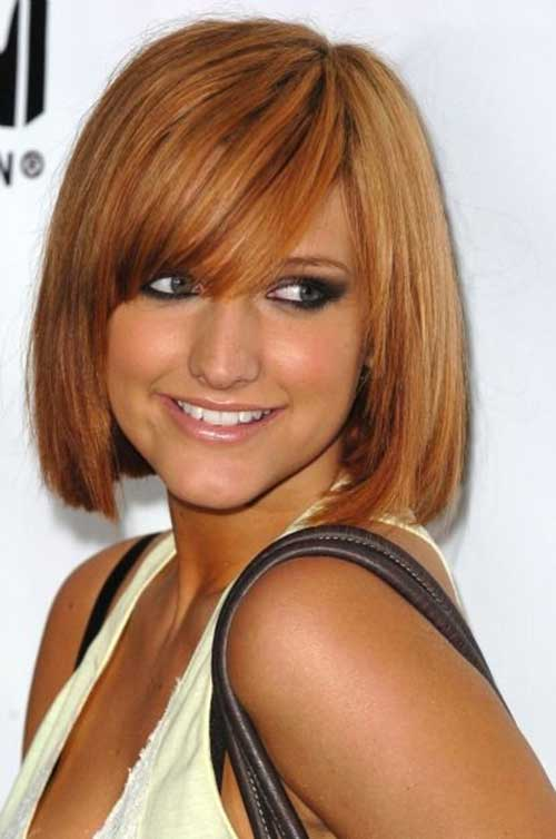 Short Honey Blonde Bob Hairstyles