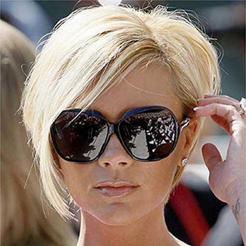 Short Straight Blonde Bob Hair Styles for Woman