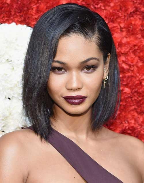 Short Straight Dark Hair Styles for Woman