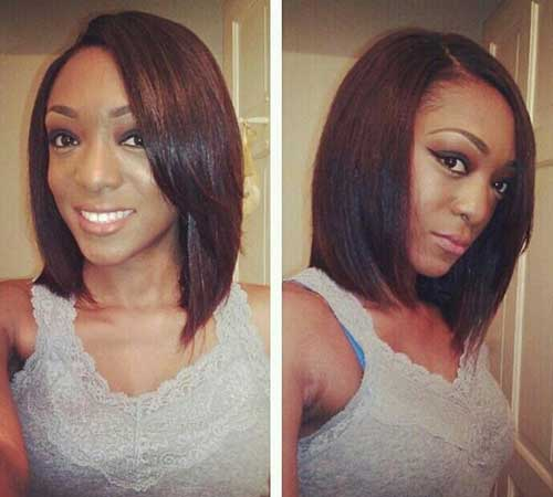 Short to Medium Bob Hairstyles for Black Women 2014