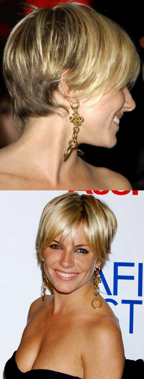 Nice Sienna Miller Pixie Haircut