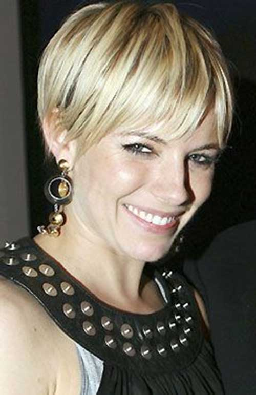 sienna miller hairstyles : Short Pixie Haircut Hairstyle Again LONG HAIRSTYLES
