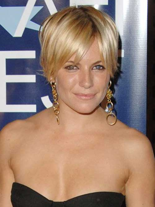 Short Hairstyles Idea From Sienna Miller