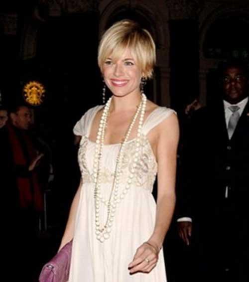 Sienna Miller Trendy Nice Pixie Cut