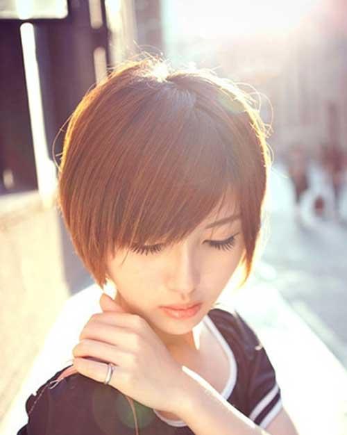 Trendy Asian Short Haircuts