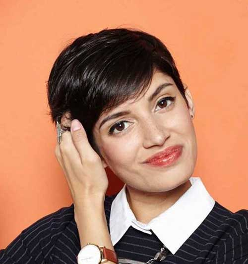 Trendy Pixie Cuts for Girl Hair