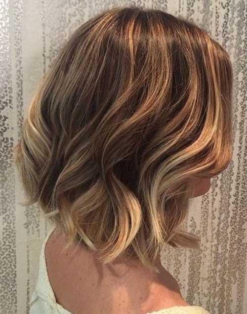 Blonde Ombre Short Hair-10