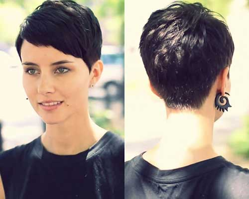 Short Hair with Bangs-13