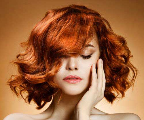 Hairstyles for Short Curly Hair-14