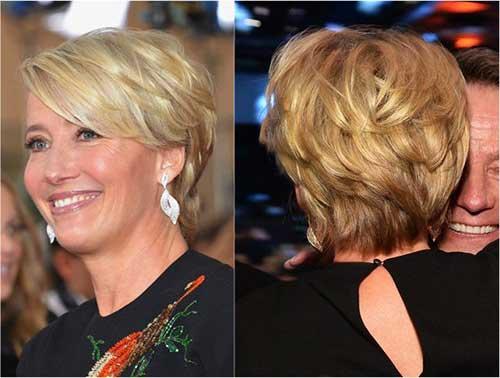 Short Hair Styles for Older Women-17