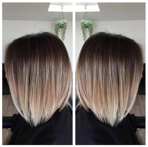 Blonde Ombre Short Hair-18